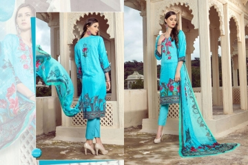 PRE WINTER BY LA VEDO MORA DESIGNER WITH PRINTED GLACE COTTON SUITS ARE AVAILABLE AT WHOLESALE BESTRATE BY GO (2)