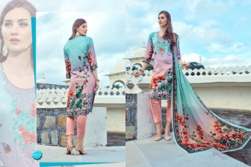 PRE WINTER BY LA VEDO MORA DESIGNER WITH PRINTED GLACE COTTON SUITS ARE AVAILABLE AT WHOLESALE BESTRATE BY GO (5)