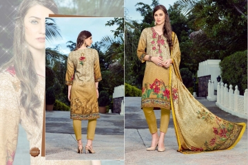 PRE WINTER BY LA VEDO MORA DESIGNER WITH PRINTED GLACE COTTON SUITS ARE AVAILABLE AT WHOLESALE BESTRATE BY GOSIY (1)