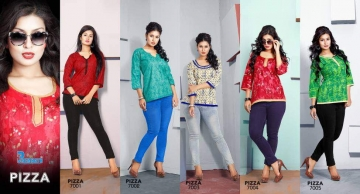 PREMNATH PIZZA COTTON PRINT TOP WHOLESALE RATE AT GOSIYA EXPORTS SURAT WHOLESALE DEALER AND SUPPLAYER SURAT GUJARAT (12)