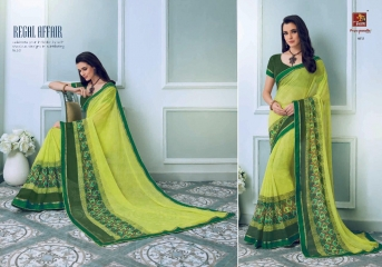 PRIYAPARIDHI FAIRY CATALOG GEORGETTE PRINTS SAREES COLLECTION WHOLESALE BEST RATE BU GOSIYA EXPORTS SURAT (3)