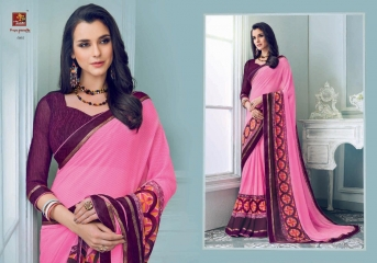 PRIYAPARIDHI FAIRY CATALOG GEORGETTE PRINTS SAREES COLLECTION WHOLESALE BEST RATE BU GOSIYA EXPORTS SURAT (4)