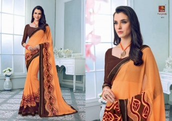 PRIYAPARIDHI FAIRY CATALOG GEORGETTE PRINTS SAREES COLLECTION WHOLESALE BEST RATE BU GOSIYA EXPORTS SURAT (5)