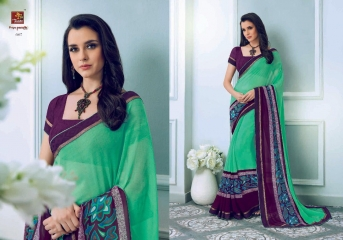 PRIYAPARIDHI FAIRY CATALOG GEORGETTE PRINTS SAREES COLLECTION WHOLESALE BEST RATE BU GOSIYA EXPORTS SURAT (6)
