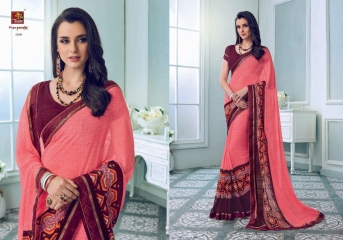 PRIYAPARIDHI FAIRY CATALOG GEORGETTE PRINTS SAREES COLLECTION WHOLESALE BEST RATE BU GOSIYA EXPORTS SURAT (7)