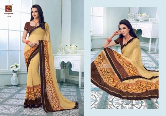PRIYAPARIDHI FAIRY CATALOG GEORGETTE PRINTS SAREES COLLECTION WHOLESALE BEST RATE BU GOSIYA EXPORTS SURAT (8)