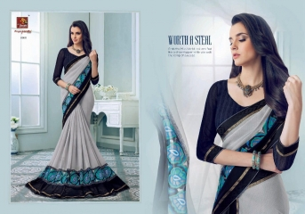 PRIYAPARIDHI FAIRY CATALOG GEORGETTE PRINTS SAREES COLLECTION WHOLESALE BEST RATE BU GOSIYA EXPORTS SURAT (9)