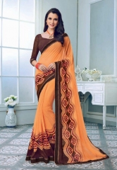 PRIYAPARIDHI FAIRY CATALOG GEORGETTE PRINTS SAREES COLLECTION WHOLESALE BEST RATE BU GOSIYA EXPORTS SURAT