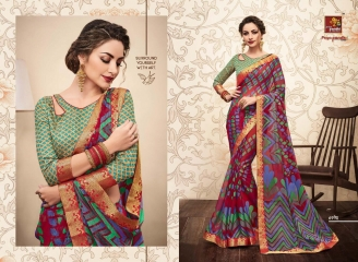 PRIYAPARIDHI GALAXY 3 CATALOG BRASSO SAREES PARTY WEAR COLLECTION WHOLESALE DEALER BEST RATE BY GOSIYA EXPORTS SURAT (10)
