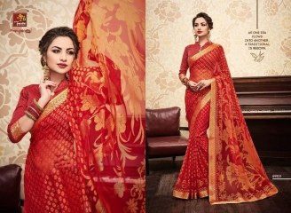 PRIYAPARIDHI GALAXY 3 CATALOG BRASSO SAREES PARTY WEAR COLLECTION WHOLESALE DEALER BEST RATE BY GOSIYA EXPORTS SURAT (3)