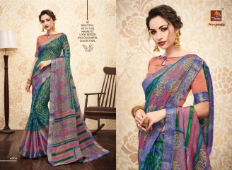 PRIYAPARIDHI GALAXY 3 CATALOG BRASSO SAREES PARTY WEAR COLLECTION WHOLESALE DEALER BEST RATE BY GOSIYA EXPORTS SURAT (4)
