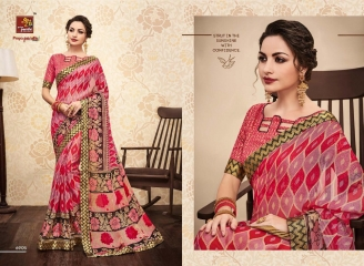 PRIYAPARIDHI GALAXY 3 CATALOG BRASSO SAREES PARTY WEAR COLLECTION WHOLESALE DEALER BEST RATE BY GOSIYA EXPORTS SURAT (5)