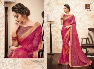 PRIYAPARIDHI GALAXY 3 CATALOG BRASSO SAREES PARTY WEAR COLLECTION WHOLESALE DEALER BEST RATE BY GOSIYA EXPORTS SURAT (7)