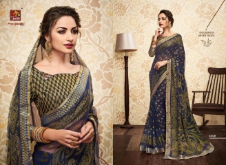 PRIYAPARIDHI GALAXY 3 CATALOG BRASSO SAREES PARTY WEAR COLLECTION WHOLESALE DEALER BEST RATE BY GOSIYA EXPORTS SURAT (8)