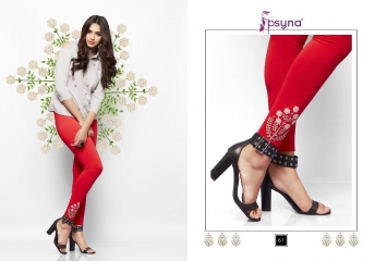PSYNA EMBROIDERED LEGGING VOL 6 CATALOG WHOLESALE COLLECTION SUPPLIER BEST RATE BY GOSIYA EXPORTS SURAT (2)