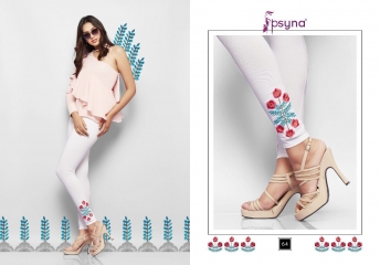 PSYNA EMBROIDERED LEGGING VOL 6 CATALOG WHOLESALE COLLECTION SUPPLIER BEST RATE BY GOSIYA EXPORTS SURAT (5)