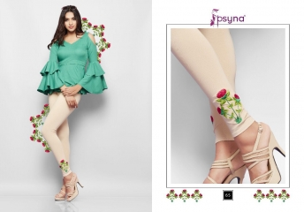 PSYNA EMBROIDERED LEGGING VOL 6 CATALOG WHOLESALE COLLECTION SUPPLIER BEST RATE BY GOSIYA EXPORTS SURAT (6)