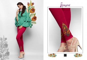PSYNA EMBROIDERED LEGGING VOL 6 CATALOG WHOLESALE COLLECTION SUPPLIER BEST RATE BY GOSIYA EXPORTS SURAT (8)