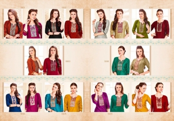PSYNA PARIDHI VOL 6 KURTI WHOLESALEBEST RATE BY GOSIYA EXPORTS SURAT (11)