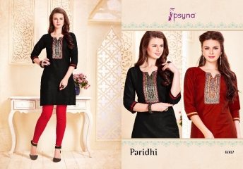 PSYNA PARIDHI VOL 6 KURTI WHOLESALEBEST RATE BY GOSIYA EXPORTS SURAT (2)