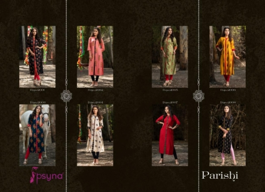 PSYNA PARISHI VOL 2 RAYON KURTI HANDMADE ACCESSORIES WHOLESALE DEALER BEST RATE BY GOSIYA EXPORTS SURAT (2)