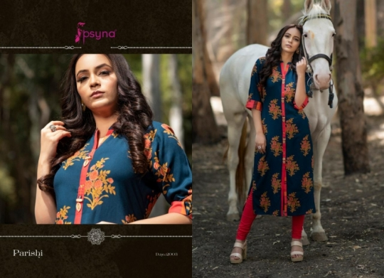 PSYNA PARISHI VOL 2 RAYON KURTI HANDMADE ACCESSORIES WHOLESALE DEALER BEST RATE BY GOSIYA EXPORTS SURAT (3)