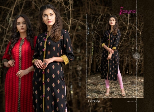 PSYNA PARISHI VOL 2 RAYON KURTI HANDMADE ACCESSORIES WHOLESALE DEALER BEST RATE BY GOSIYA EXPORTS SURAT (4)