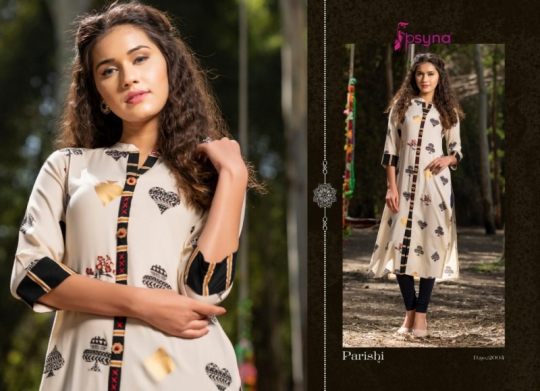 PSYNA PARISHI VOL 2 RAYON KURTI HANDMADE ACCESSORIES WHOLESALE DEALER BEST RATE BY GOSIYA EXPORTS SURAT (5)
