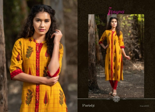 PSYNA PARISHI VOL 2 RAYON KURTI HANDMADE ACCESSORIES WHOLESALE DEALER BEST RATE BY GOSIYA EXPORTS SURAT (7)
