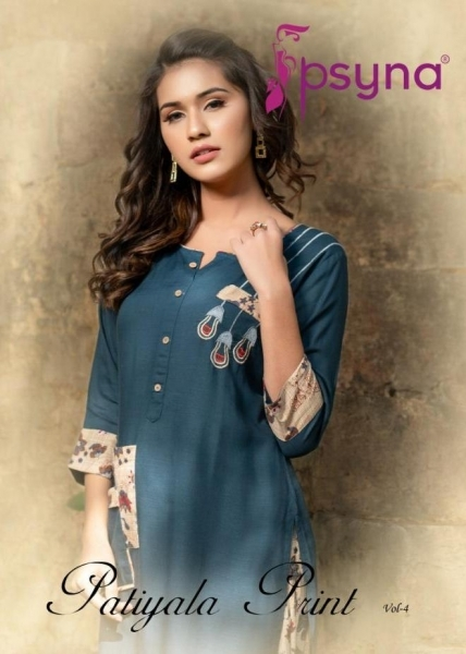 PSYNA PATIYALA PRINTS VOL 4 RAYON  (1)