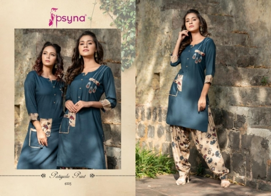PSYNA PATIYALA PRINTS VOL 4 RAYON  (10)