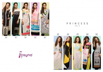 PSYNA PRINCESS VOL 6 RAYON KURTIS CATALOG WHOLESALER PSYNA BY GOSIYA EXPORTS (6)