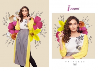 PSYNA PRINCESS VOL 8 DIGITAL PRINTED RAYON KURTIS CATALOG PSYNA CATALOG BEST RATE BY GOSIYA EXPORTS (11)