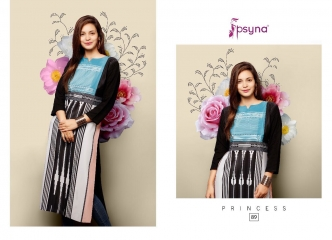 PSYNA PRINCESS VOL 8 DIGITAL PRINTED RAYON KURTIS CATALOG PSYNA CATALOG BEST RATE BY GOSIYA EXPORTS (13)