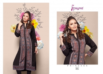 PSYNA PRINCESS VOL 8 DIGITAL PRINTED RAYON KURTIS CATALOG PSYNA CATALOG BEST RATE BY GOSIYA EXPORTS (7)