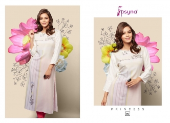 PSYNA PRINCESS VOL 8 DIGITAL PRINTED RAYON KURTIS CATALOG PSYNA CATALOG BEST RATE BY GOSIYA EXPORTS (8)