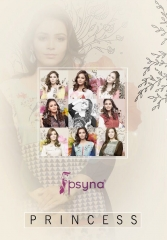 PSYNA PRINCESS VOL 8 DIGITAL PRINTED RAYON KURTIS CATALOG PSYNA CATALOG BEST RATE BY GOSIYA EXPORTS