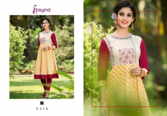 Psyna rain vol 1 Kurties collection wholesale BEST ARTE BY GOSIYA EXPORTS SURAT (2)