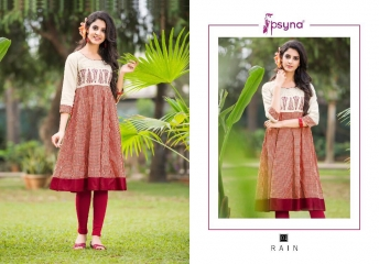 Psyna rain vol 1 Kurties collection wholesale BEST ARTE BY GOSIYA EXPORTS SURAT (6)