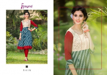 Psyna rain vol 1 Kurties collection wholesale BEST ARTE BY GOSIYA EXPORTS SURAT (7)