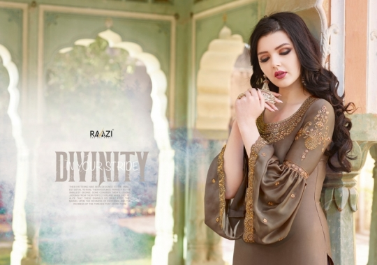 RAAZI VOL 11 PAKISTANI SAHARARA DRESS  (1)