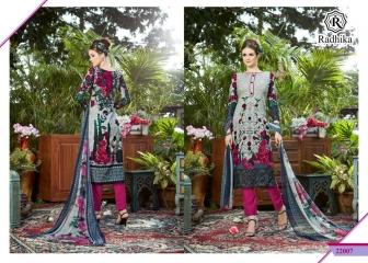 Radhika azara 22 printed cotton salwar kameez cataloG BY GOSIYA EXPORTS (10)