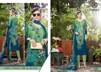 Radhika azara 22 printed cotton salwar kameez cataloG BY GOSIYA EXPORTS (11)
