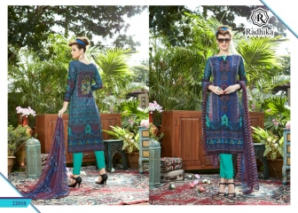 Radhika azara 22 printed cotton salwar kameez cataloG BY GOSIYA EXPORTS (4)