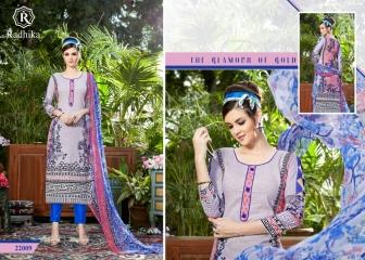 Radhika azara 22 printed cotton salwar kameez cataloG BY GOSIYA EXPORTS (5)