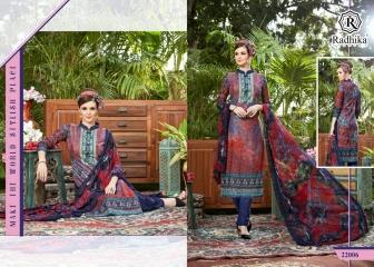 Radhika azara 22 printed cotton salwar kameez cataloG BY GOSIYA EXPORTS (7)