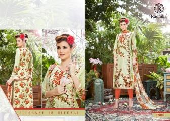 Radhika azara 22 printed cotton salwar kameez cataloG BY GOSIYA EXPORTS (9)