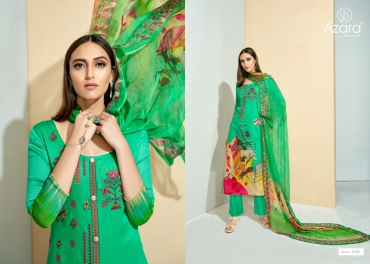 RADHIKA FASHION SANAZ COTTON FABRIC WITH PRINTED  (5)
