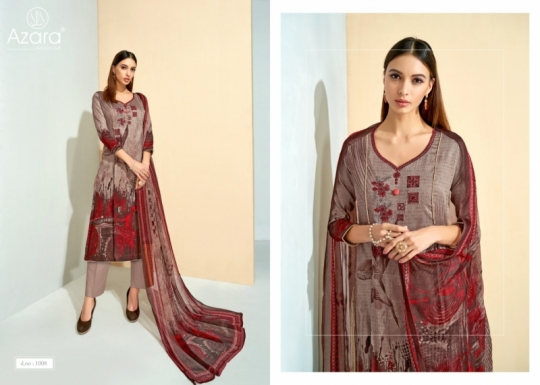 RADHIKA FASHION SANAZ COTTON FABRIC WITH PRINTED  (6)