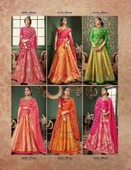 RAJ TEX KINKHAAB DESIGNER LEHENGA COLLECTION WHOLSALER BEST RATE BY GOSIYA EXPOTS SURAT (8)